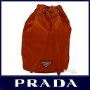 PRADA プラダ prada 化粧 ポーチ 巾着型 ナイロン VELA パパイヤオレンジ PRADA 1N0369 VELA PAPAYA 【楽ギフ_包装】【新品 未使用】