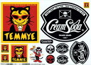 CREAMSODA cream soda TEMMYE sticker set