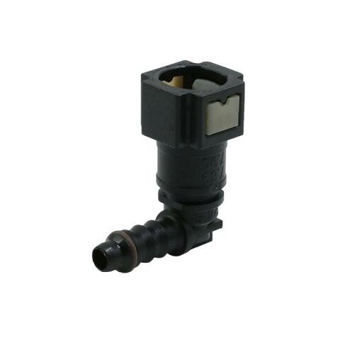 ソウテン uxcell 燃料ラインコネクタ 車用 ライン ホース パイプ クイック 釈放 プラスチック 接続 コネクター 7.89mm ID6