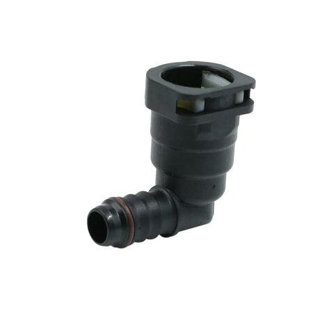 ソウテン uxcell 燃料ラインコネクタ ライン ホース パイプ クイック 釈放 プラスチック 接続 15.82mm ID12 車用