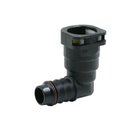 ソウテン uxcell 燃料ラインコネクタ 車用 ライン ホース パイプ クイック 釈放 プラスチック 接続 15.82mm ID14