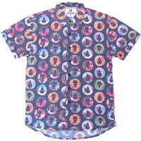 69SLAM ロックスラム メンズ ラッシュガード/ラッシュシャツ 半袖 MTQSRP-PCの画像