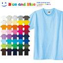 BLUE AND BLUE ブルーアンドブルー キッズ(男の子 女の子) Tシャツ 半袖