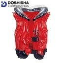 【即納♪】DOSHISHA ドウシシャ キッズ インフレベスト/浮き輪 DU15021 テントウムシ 浮輪 子供 うきわ 水遊び プール スイミング 海の画像