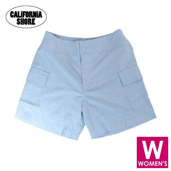 California Shore カリフォルニアショア レディース ボードショーツ/サーフパンツ ショート 227173 サックスボードショーツ レディース/レディース サーフパンツ/水着/レディース 水着/レディース 水着 ハーフ/水泳/さーふぱんつ/