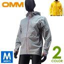 OMM オリジナルマウンテンマラソン Aeon Jacket メンズ フルジップパーカー トレイルランニング ウェア 防水レインウェア