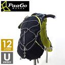 PaaGo WORKS パーゴワークス RUSH12 ラッシュ12 メンズ・レディース ザック・バックパック(12L) トレイルランニング リュックサック バッグ
