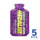 MEDALIST(メダリスト) エナジージェル ブドウとはちみつ 5個セット(45g×5個) クエン酸入りエネルギー補給ジェル トレイルランニング 補給食、行動食、エネルギー補給