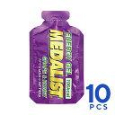 MEDALIST(メダリスト) エナジージェル ブドウとはちみつ 10個セット(45g×10個) クエン酸入りエネルギー補給ジェル トレイルランニング 補給食、行動食、エネルギー補給
