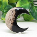 【天然石】黒い月(Bulan hitam)ヤシの根の化石。インドネシア直輸入☆ポスト投函☆
