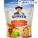 【訳あり】クエーカー インスタントオートミール トロピカルフルーツ(350g)【クエーカー】
