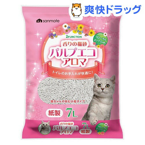猫砂 パルプエコ アロマ(7L)[ペット用品]:爽快ドラッグ
