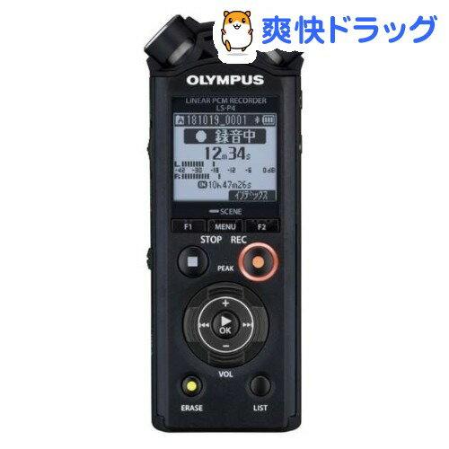 オリンパス リニアPCMレコーダー LS-P4 ブラック(1台)【送料無料】