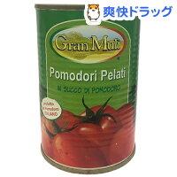 【訳あり】グラン・ムリ ホールトマト缶(400g*24コ入)[缶詰]【送料無料】