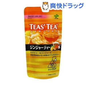 ティーズティー ジンジャーティー ティーバッグ(10コ入)【ティーズティー(TEAS'TEA)】