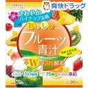 おいしいフルーツ青汁 Wの活性酵素 さわやかパイナップル味(...