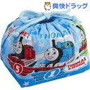 日本製 きかんしゃトーマス 巾着 弁当袋 KB-1(1枚入)[2段 男の子 お弁当箱 幼稚園 ベビー用品]