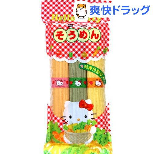 ハローキティ 播州そうめん 緑黄色野菜入り(300g)[キティー キティちゃん]...:soukai:10437568