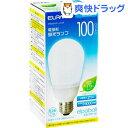 エルパ 電球形蛍光ランプ 100W形 相当 EFA25ED/21-A101H(1コ入)【エルパ(ELPA)】