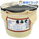 マルシマ 麦みそ 樽(4kg)【送料無料】