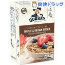 クエーカー オートミール メープルブラウンシュガー(43g*10袋入)【クエーカー】