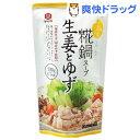 宮島醤油 糀鍋スープ 生姜とゆず(720g)