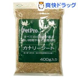 <strong>カナリア</strong>シード(400g)【ペットプロ(PetPro)】