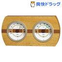 ウッドクレスト 温度・湿度計 TM-606(1台)