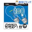 OHM ���ꥢ�ŵ� 100W LC100V100W60��2P(2����)