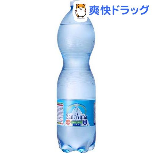 サンタンナ イタリアアルプス天然水 炭酸水(1.5L*6本入)