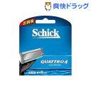 シック クアトロ4 替刃(8コ入)【シック】【送料無料】