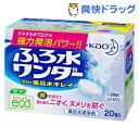 ふろ水ワンダー 翌日も風呂水キレイ(20g)【kao1610T】[風呂 掃除 花王]