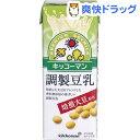 キッコーマン 焙煎大豆 調製豆乳(200mL 18本入)