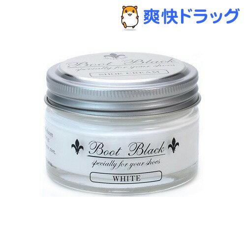 ブートブラックシルバーライン シュークリーム ホワイト(55g)【ブートブラックシルバーライン】