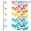 【お得】エルモア ティシュー 400枚(200組)(5箱)【エルモア】[日用品 ティッシュペーパー]