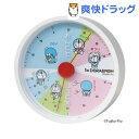 I'm Doraemon ドラえもん アナログ温湿度計 ホワイト ID-5558130WH(1台)