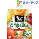 ミニッツメイド スムージー マンゴーキャロットミックス(160g*6本入)