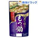 もつ鍋用スープ しょうゆ味(750g)