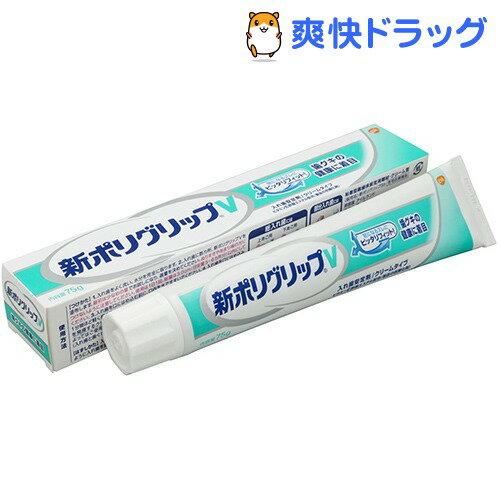 新ポリグリップV(75g)【ポリグリップ】[デンタルケア 入れ歯安定剤]...:soukai:10221192