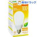 エルパ 電球形蛍光ランプ 100W形 相当 EFA25EL/21-A102H(1コ入)【エルパ(ELPA)】