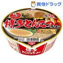 【数量限定】日清麺ニッポン 博多とんこつラーメン(1コ入)