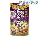 横綱 地鶏だしちゃんこ鍋用スープ 醤油味(750g)...