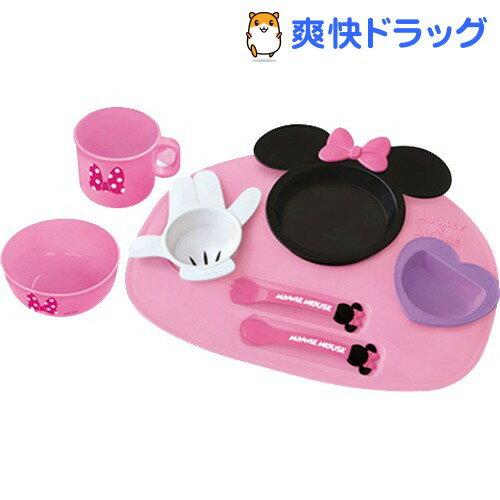 ミニーマウス アイコン ベビー食器 8点セット(1コ入)[ミニーマウス ベビー用品]【送料…...:soukai:10467691