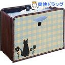 大容量ドキュメントボックス 仔猫のシルエット(1コ入)