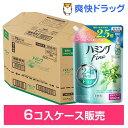 ハミング ファイン リフレッシュグリーンの香り つめかえ 超特大サイズ(1.2L*6コ入)【kao16T】【ハミング】[kaojyuna]【送料無料】