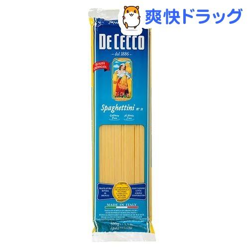 ディチェコ No.11 スパゲッティーニ(500g)【ディチェコ(DE CECCO)】[パ…...:soukai:10156438