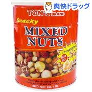 トン スナッキーミックスナッツ缶(650g)【トン(ナッツ)】