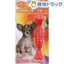 かみかみフルーツボーン ストロベリー Sサイズ(1本入)【スーパーキャット】[犬 おもちゃ]
