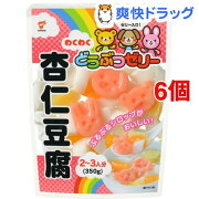 たいまつ わくわくどうぶつゼリー 杏仁豆腐(350g*6コセット)
