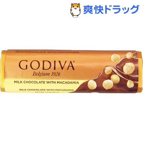 ゴディバ バー ミルクマカダミア(45g)【ゴディバ(GODIVA)】